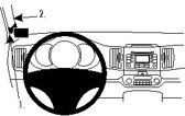 Brodit ProClip Mounting Platform voor het linker dashboard - Kia Sportage