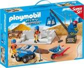 Playmobil SuperSet Bouwterrein  - 6144