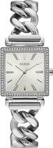 GUESS Watches -  W1030L1 -  Horloge -  Vrouwen -  RVS - Zilverkleurig -  28  mm