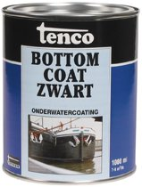 Tenco Bottomcoat - Zwart - 1 l