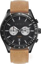 ESPRIT ES108241004 Horloge -Leer - Bruin - 44 mm