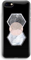 iPhone 7 Transparant Hoesje (Soft) - Creatieve toets