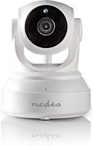 Nedis IPCMPT10CWT Bedrade IP-camera met Pan&Tilt via Mobiele App (HD 720p, microSD, IR+2-weg audio)