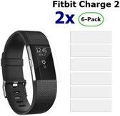 12 Stuks Beschermfolie voor Fitbit Charge 2