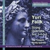 Yuri Falik: String Quartets Nos. 3, 4, 5, 6