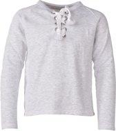 Penn & Ink Meisjes Sweater met Print - Grijs - Maat 176