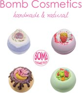 Bomb Cosmetics - Unieke Mix Badbommen - Handmade Bath Bombs Set - Natural - 100% Natuurlijk - Badbruisballen - Cadeau - Kado - Giftset - Set van 4 stuks – Combideal 2