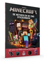 Minecraft - De Nether & de End Stickerboek