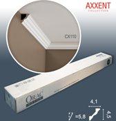 1 doos 10 Kroonlijsten Origineel Orac Decor CX110 AXXENT Plafondlijsten Sierlijsten 20 m