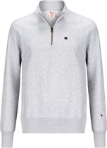 Champion Half Zip Sweatshirt Grey