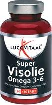 Lucovitaal - Super Visolie Omega 3-6 - 150 Capsules - Visolie - Voedingssupplementen