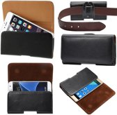 Riem Holster lederen Case Hoesje voor Vodafone Smart prime 6 7 Speed 6 Turbo 7