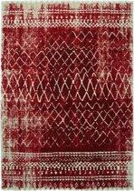 Vloerkleed Loftline 120x170 vintage rood