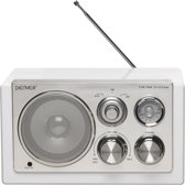 Denver TR-61 - FM Radio - Wit
