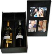 DSM Decoratief serveren Foto/ wijnkist Memorie