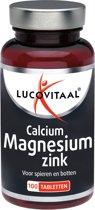 Lucovitaal Calcium Magnesium Zink Voedingssupplement - 100 tabletten