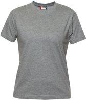 Clique Premium-T Ladies Grijs Melange maat XL