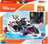 Mega Bloks Minions 3 Gru's Motorfiets - Constructiespeelgoed