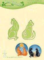 Leabilitie�  Katten snij en embossing mal