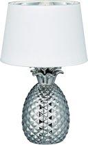 Reality PINEAPPLE - Tafellamp - E27 - Zonder lichtbron - zilver