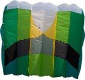 Hq Kites Eenlijnsvlieger Kap Foil 5.0 240 Cm Groen