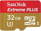 Sandisk Extreme Plus 32GB MicroSD kaart