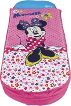 Minnie Mouse - ReadyBed - Luchtbed + Slaapzak + kussen - Roze - 150x62 cm