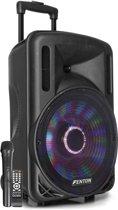 Fenton FT12LED karaoke speaker 700W 12 met LED verlichting