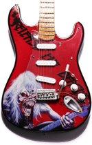 Miniatuur gitaar Iron Maiden