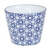 Tokyo Design Studio Nippon Blue Cup 8.3x6.5cm 180ml Stripe