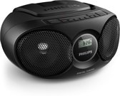 Philips AZ215B - Radio/CD-speler - Zwart