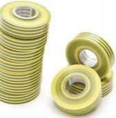 Nitto isolatie elektra tape geel/groen 19x20