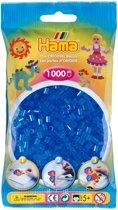 Strijkkralen 1000 Stuks Blauw Doorzichtig