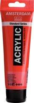 Amsterdam Standard acrylverf tube 120ml - Pyrrolerood - halfdekkend