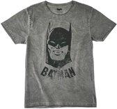 Batman-T-shirt-met-korte-mouw-grijs-maat-L