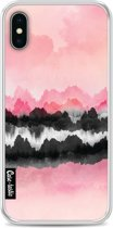 Casetastic Softcover Apple iPhone X - Pink Mountains