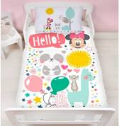 Disney Minnie Mouse Friends junior - Dekbedovertrek - 120 x 150 cm - Multi