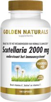 Golden Naturals Scutellaria 2000 mg (180 vegetarische capsules)