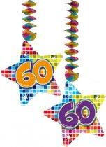 slingers 60 jaar bol.| Hangdecoratie sterren 60 jaar, Folat | Speelgoed slingers 60 jaar