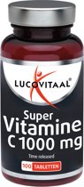 Lucovitaal - Vitamine C Time Released 1000mg - 100 tabletten - Voedingssupplementen