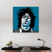 Keith Richards Poster Art 120gr mat fotopapier 90/90cm