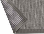 Linea Naturale vloerkleed tbv in/outdoor gebruik in Sisal-look Naturino Tweed grijs 80x150cm