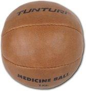 Tunturi  Medicine Bal - 1 kg - Bruin