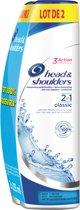Head & Shoulders Classic Clean Anti-Roos + Conditioner - 2x270ml - Shampoo