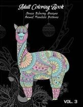 Adult Coloring Book Vol.3