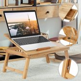 Bamboe laptoptafel - bedtafel