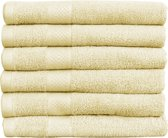 Katoenen Handdoeken Hotelkwaliteit – 12 Pack – 70 x 140 cm – Crème