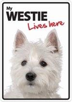 Westie lives here