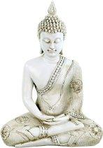 Thaise Meditatie Boeddha wit | GerichteKeuze