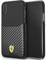 Ferrari Carbon Card Hardcase iPhone X